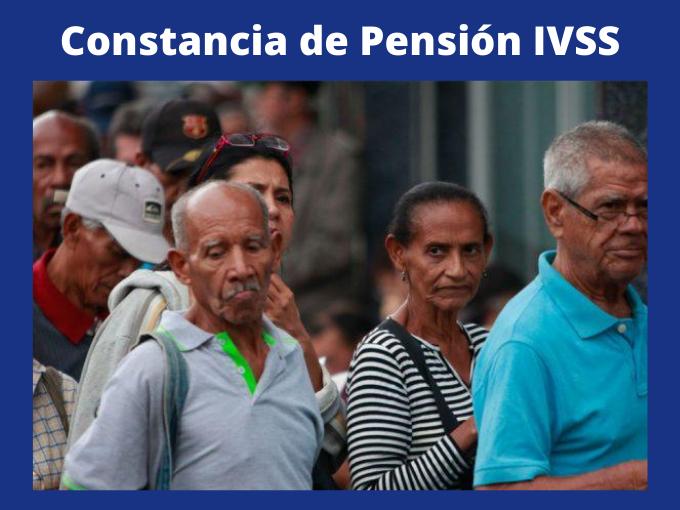 Constancia de Pensión IVSS