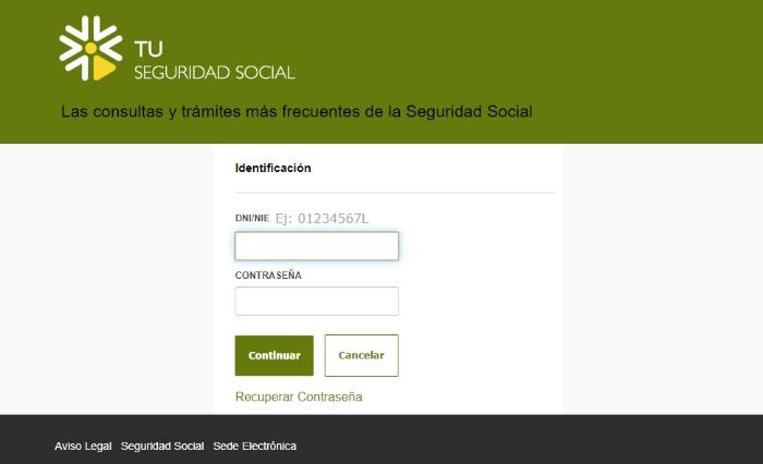acceso a tu seguridad social
